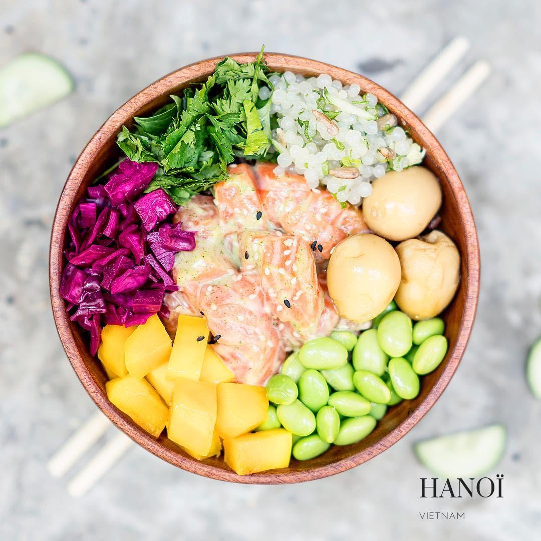Poke Saigon: les meilleurs bowls sans gluten à Hanoï