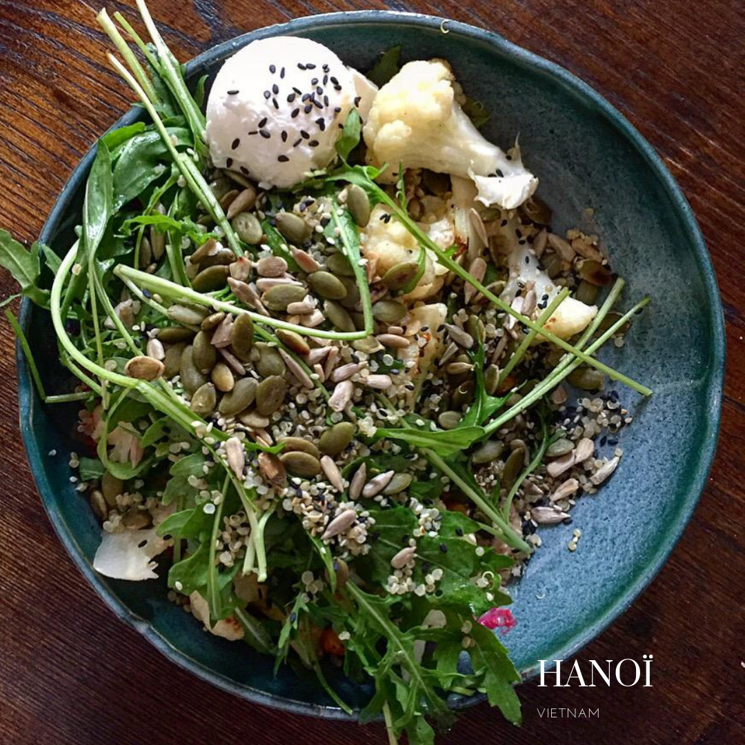 Lifted coffee, un petit déjeuner sans gluten à Hanoï?