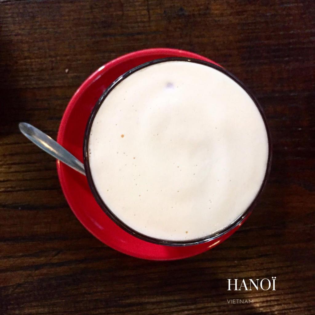 Typical Hanoï coffe