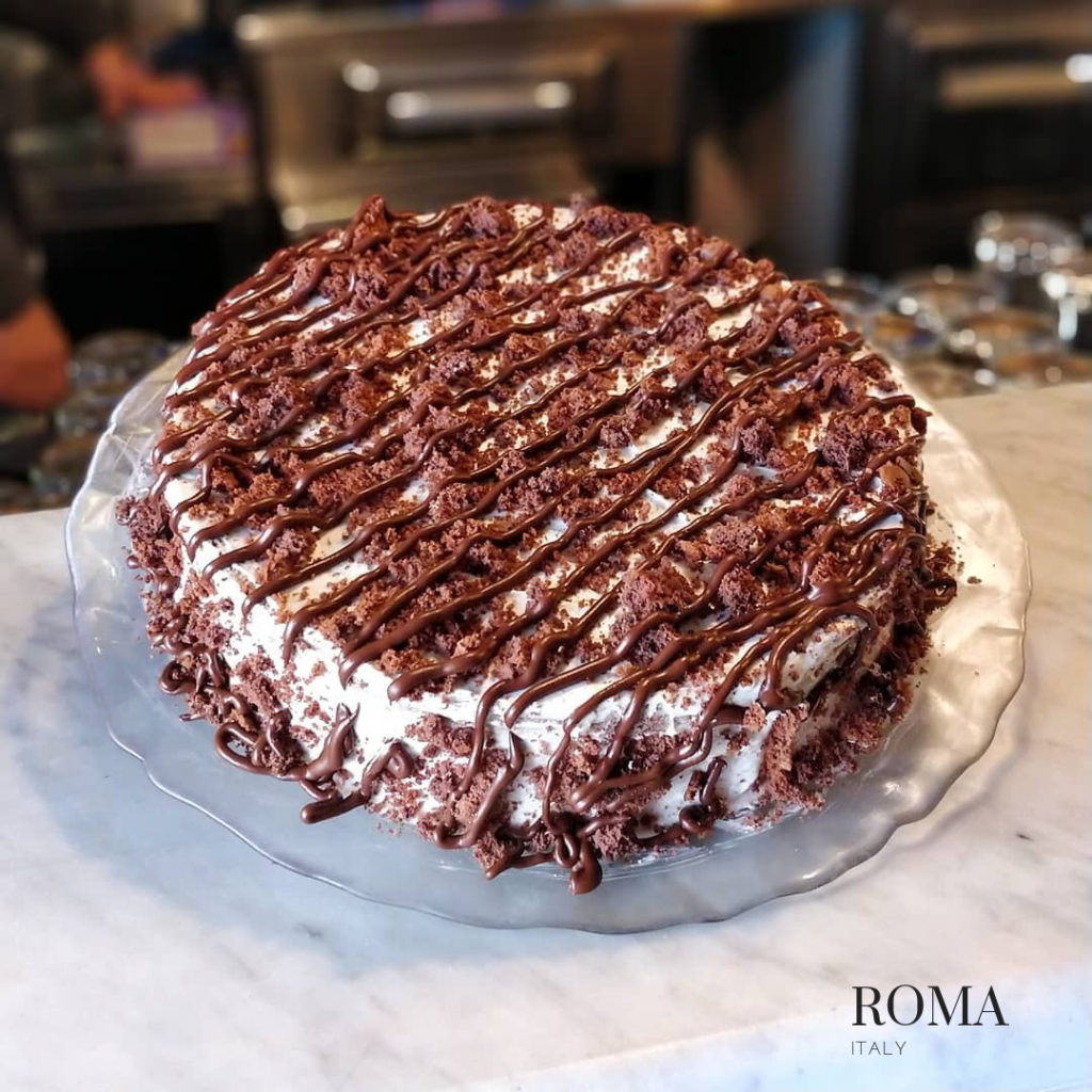 Gluten free cake in Roma at Mama eat