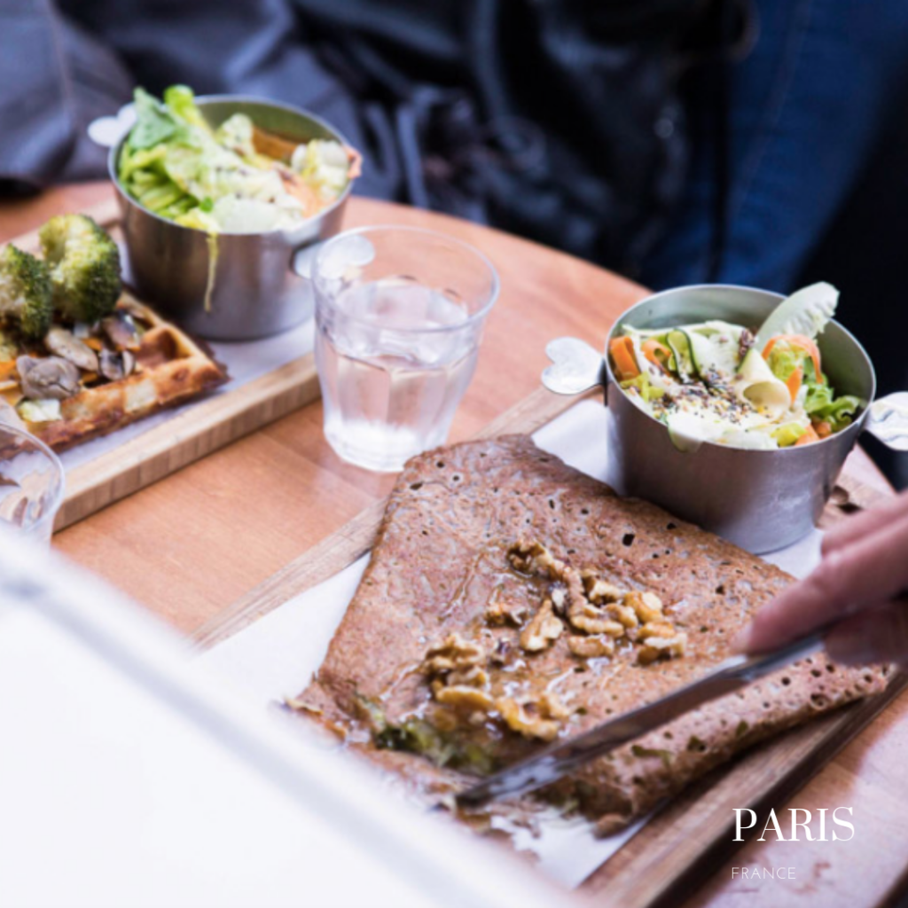 La creme de Paris crepes: gluten free crepes in Paris