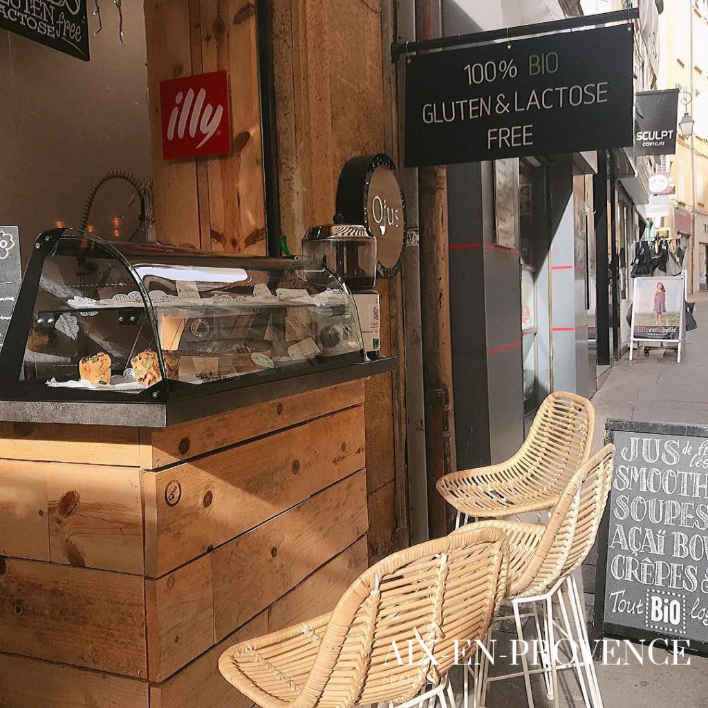 Ojus restaurant in Aix en Provence