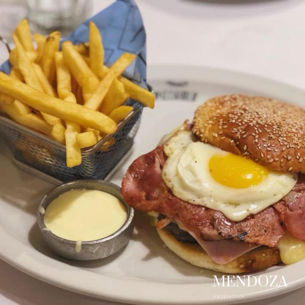 gluten free burger in Mendoza
