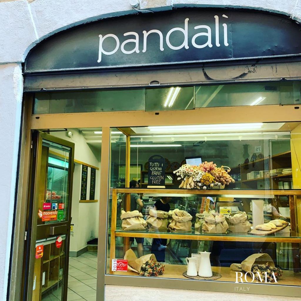 Pandali front door