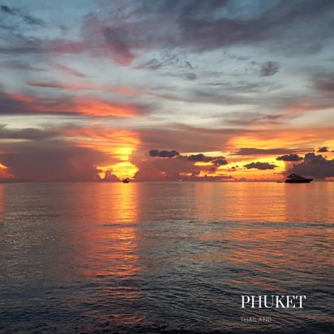 Phuket wonderfull sunset