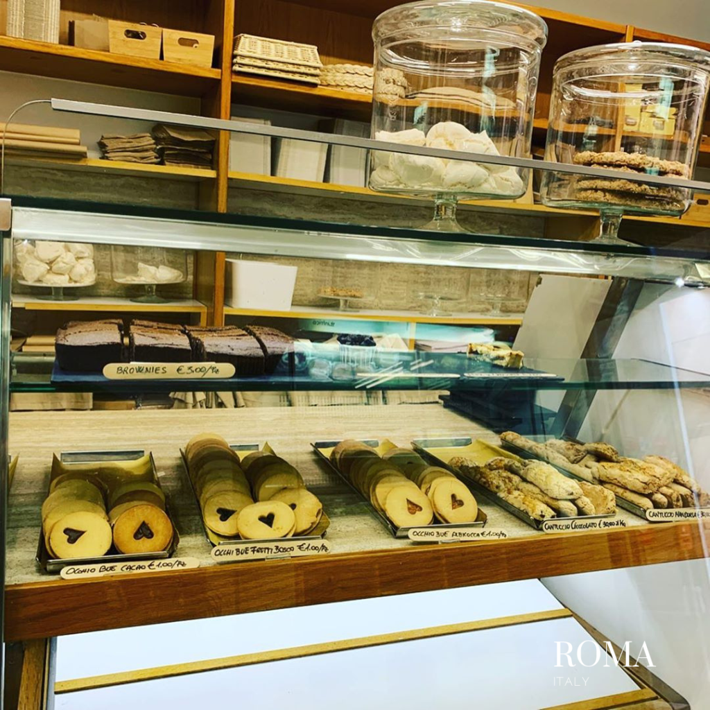 gluten free bakery in Roma