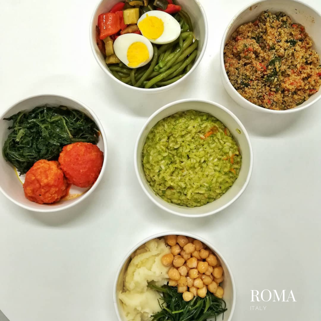 gluten free bakery in Roma meals