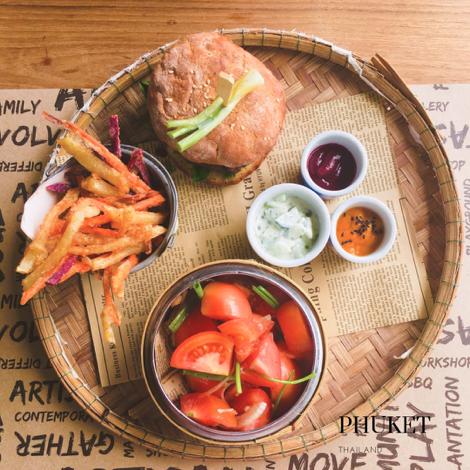 Project Artisan : le meilleur burger sans gluten à Phuket