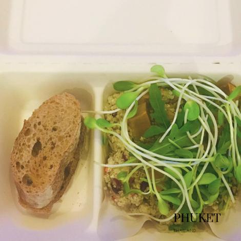 gluten free salad in Phuket