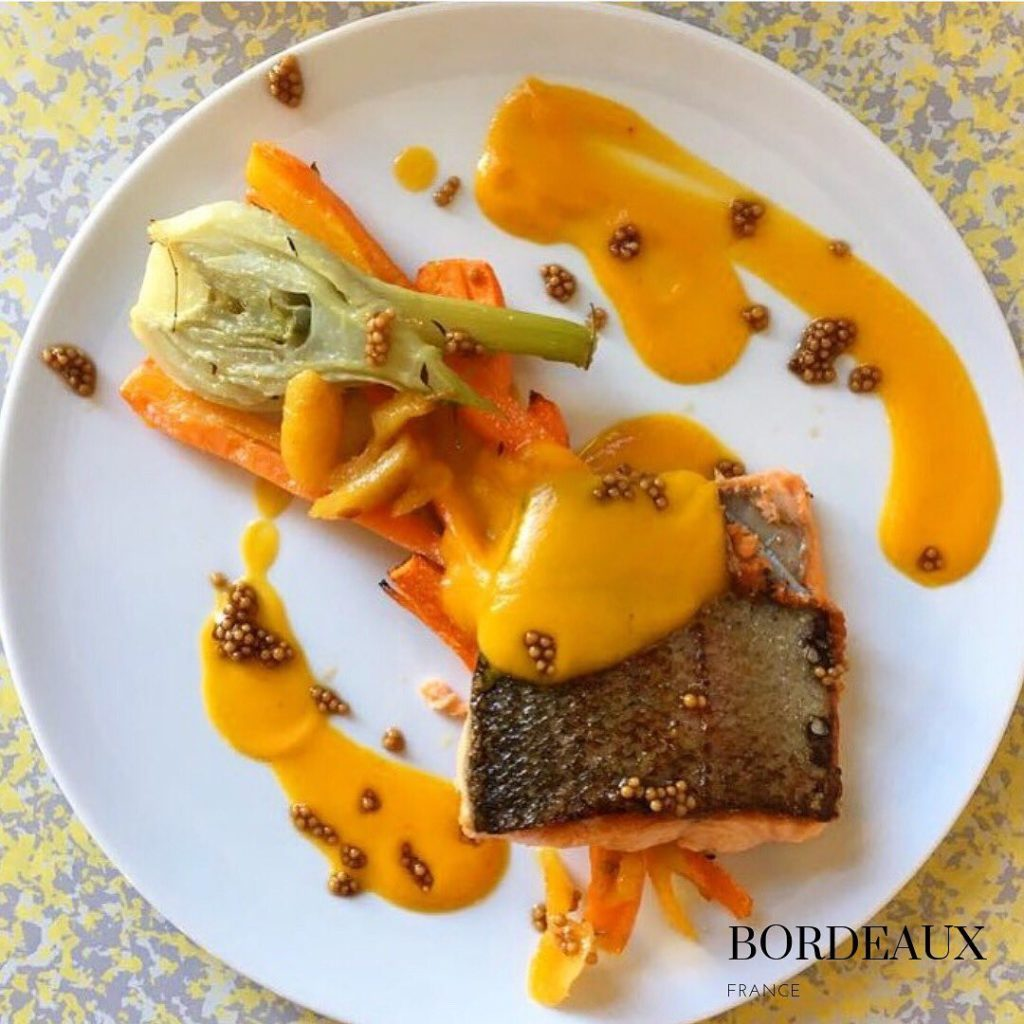 100% gluten free restaurant in Bordeaux Salmon