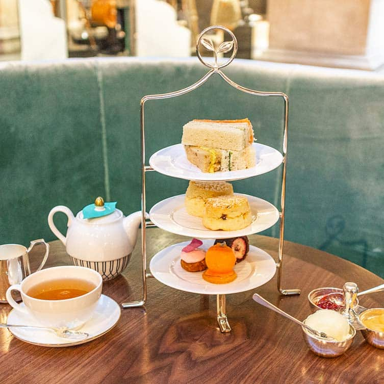 Un salon de thé sans gluten à Londres? Fortnums est le royale endroit où aller!