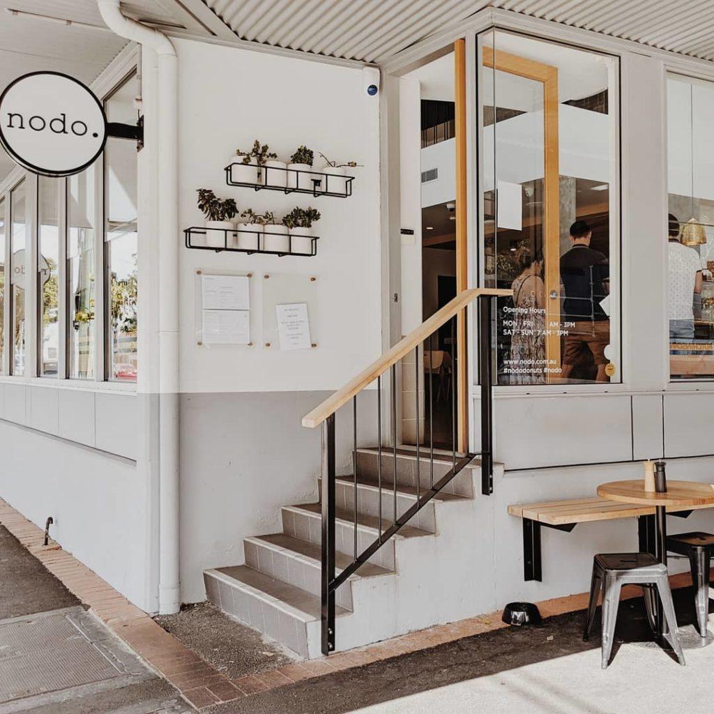 Nodo restaurant from outside