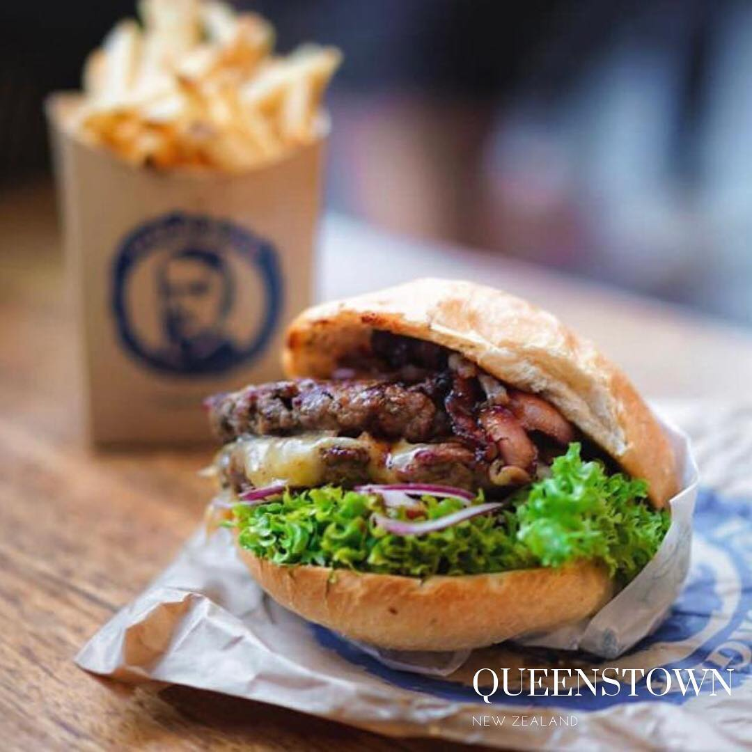 Queenstown, gluten free burger