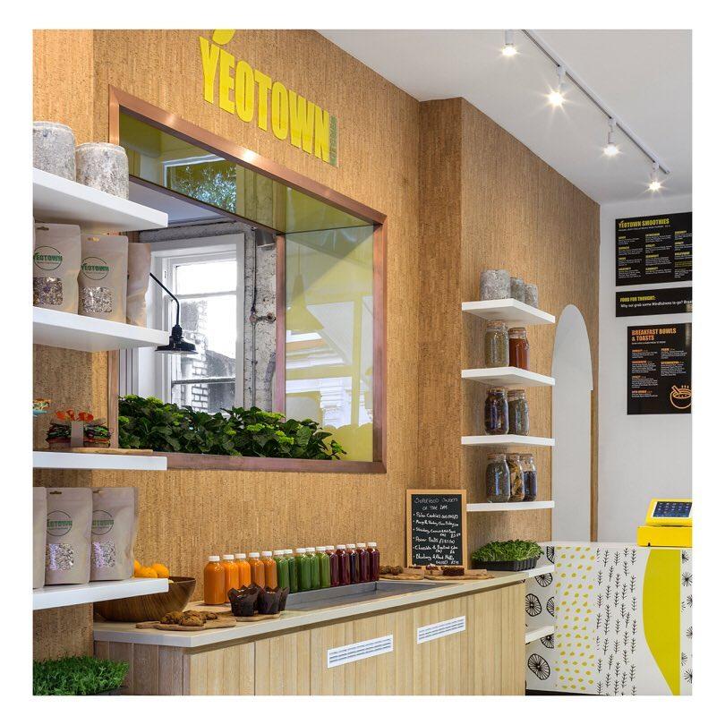 Yeotown kithcen gluten free restaurant in London