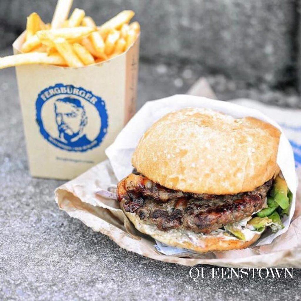 gluten free burger in Queenstown 2