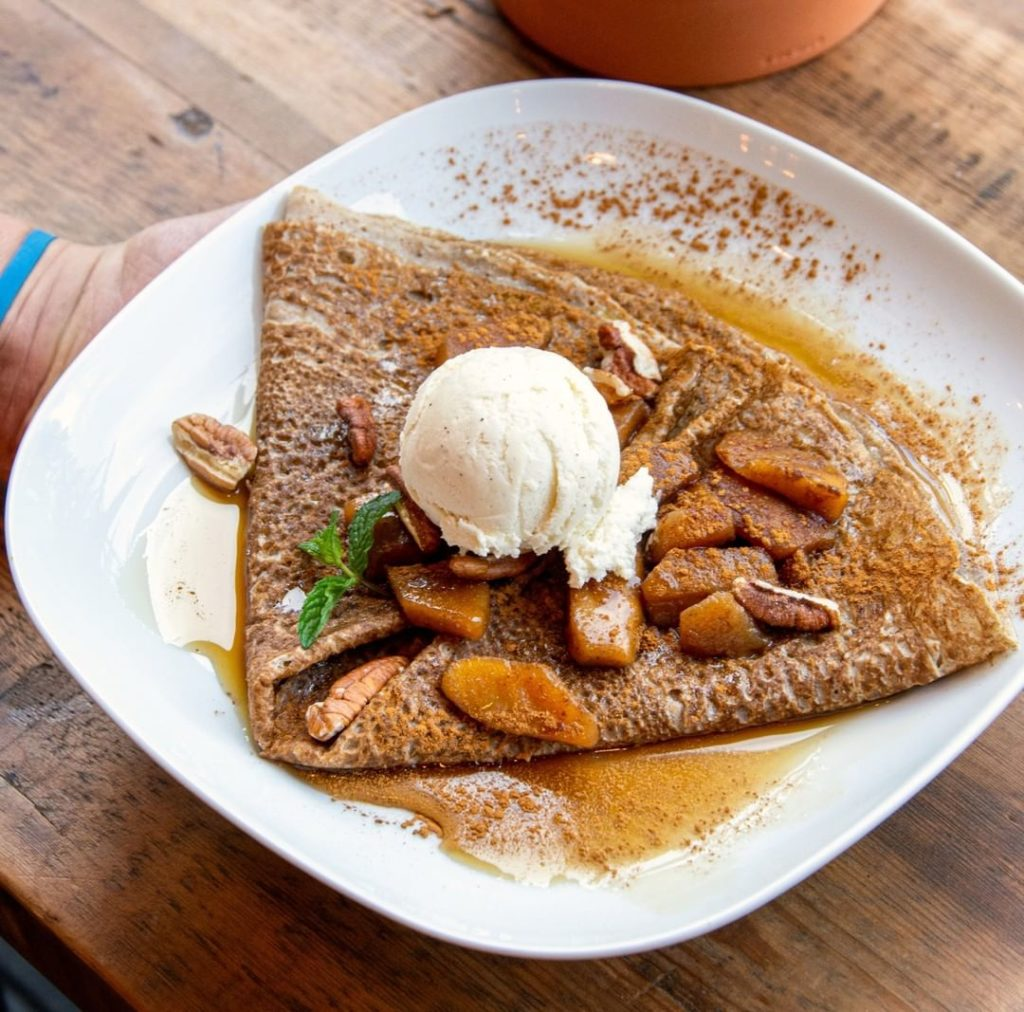 gluten free crepes in London