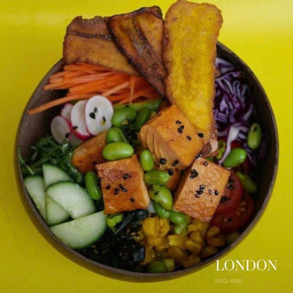 gluten free salad in Yieotown london