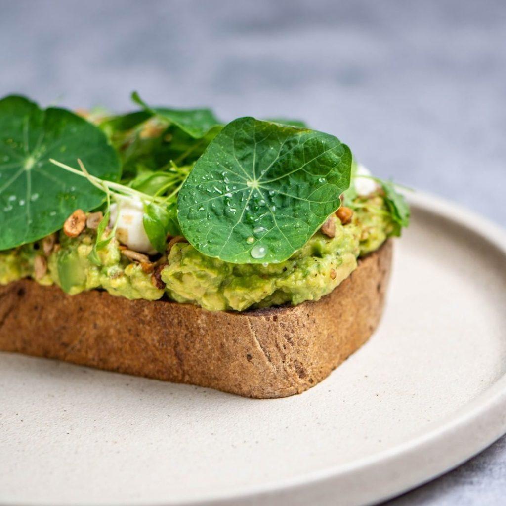 gluten free tartines toast avocado in Brisbane