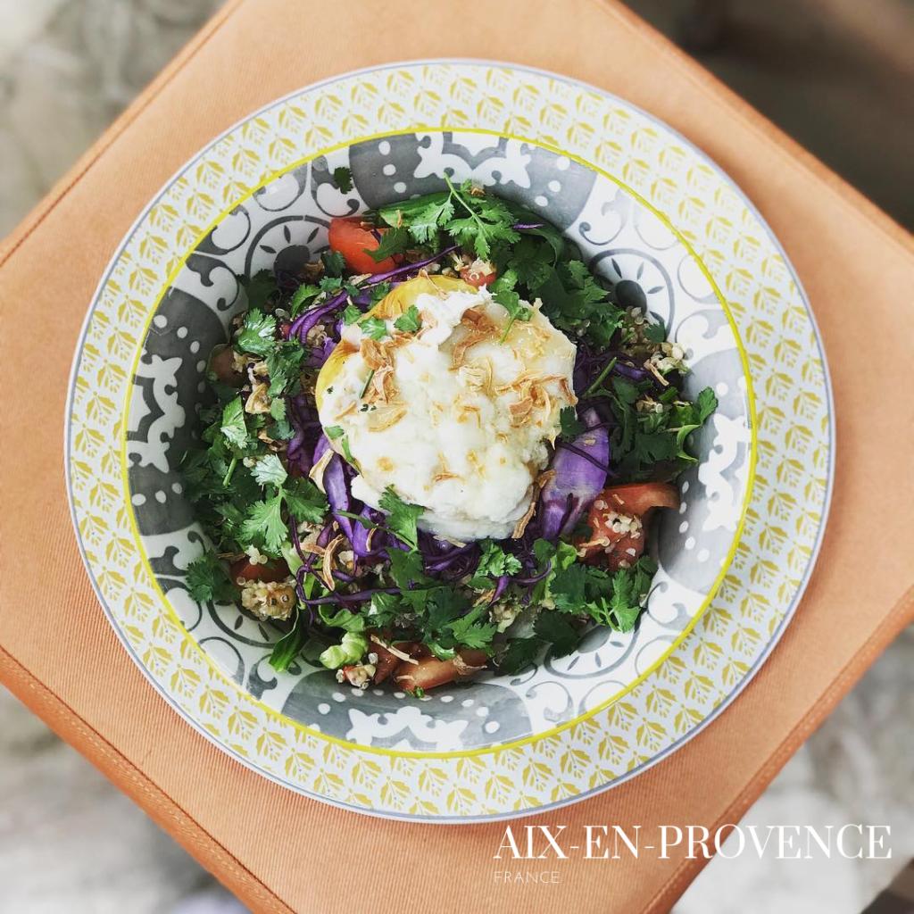 gluten free salad aix en provence