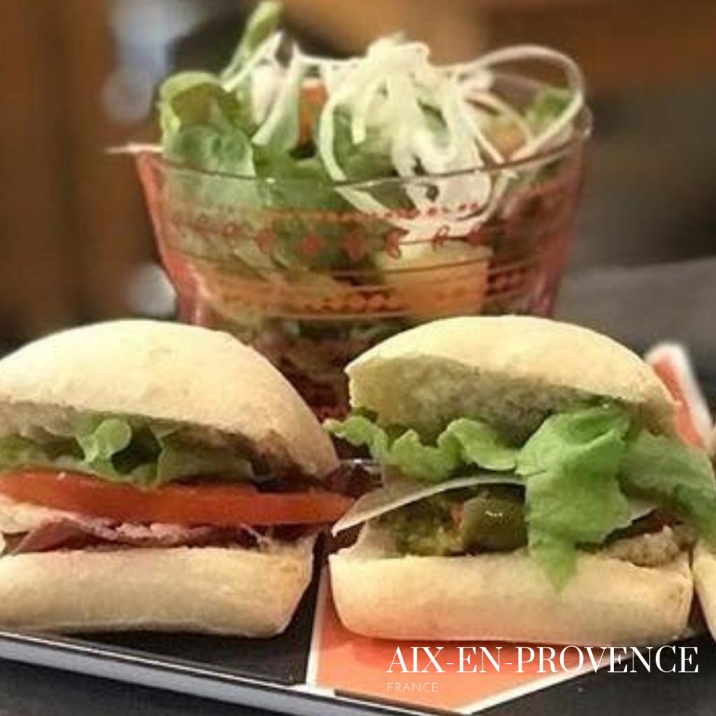 gluten free sandwich in Aix-en-Provence