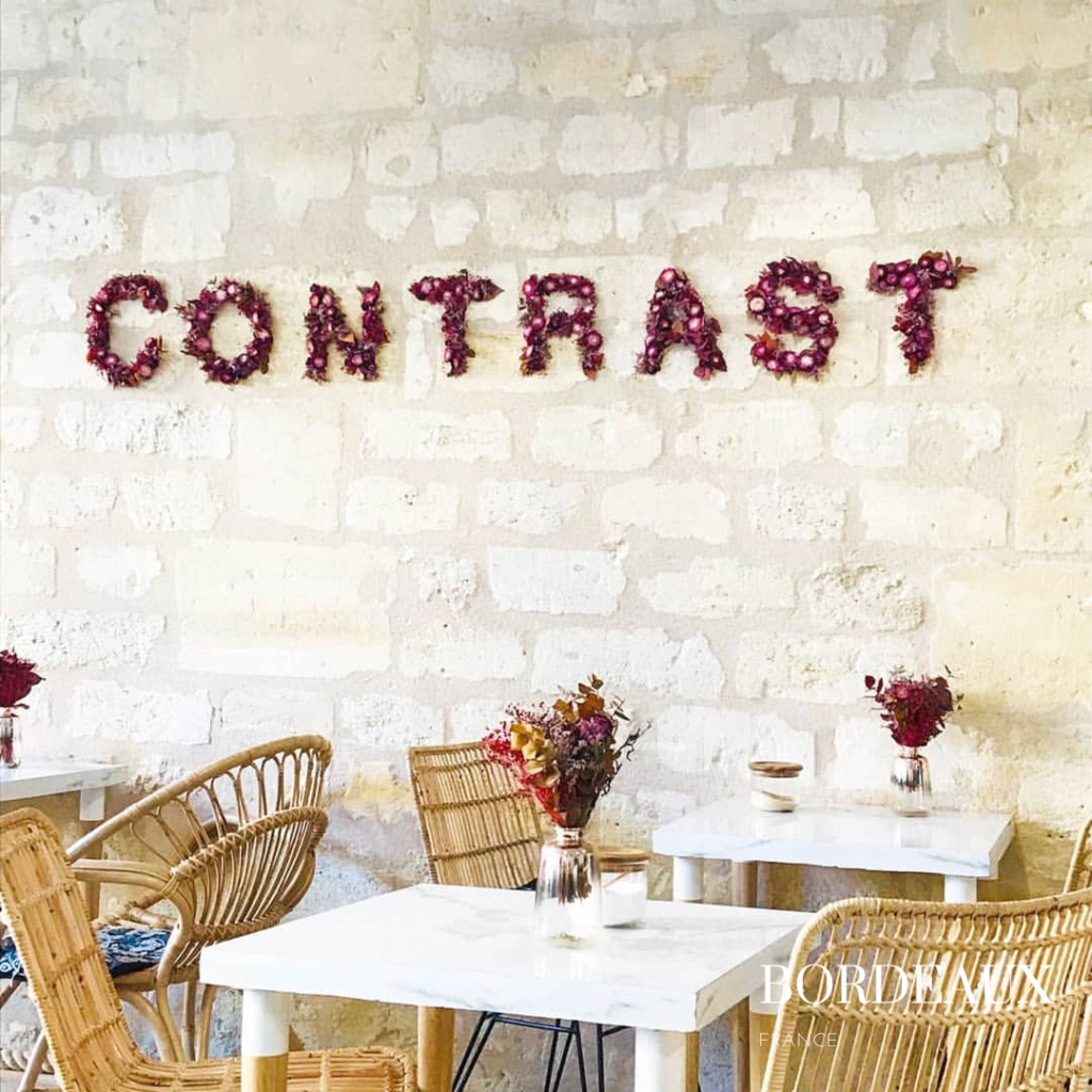 Contrast brunch restaurant Bordeaux