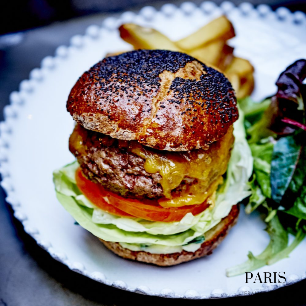 gluten free burger No Glu Paris