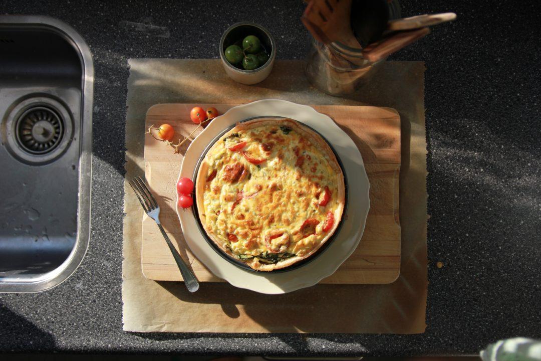 Gluten free quiche lorraine