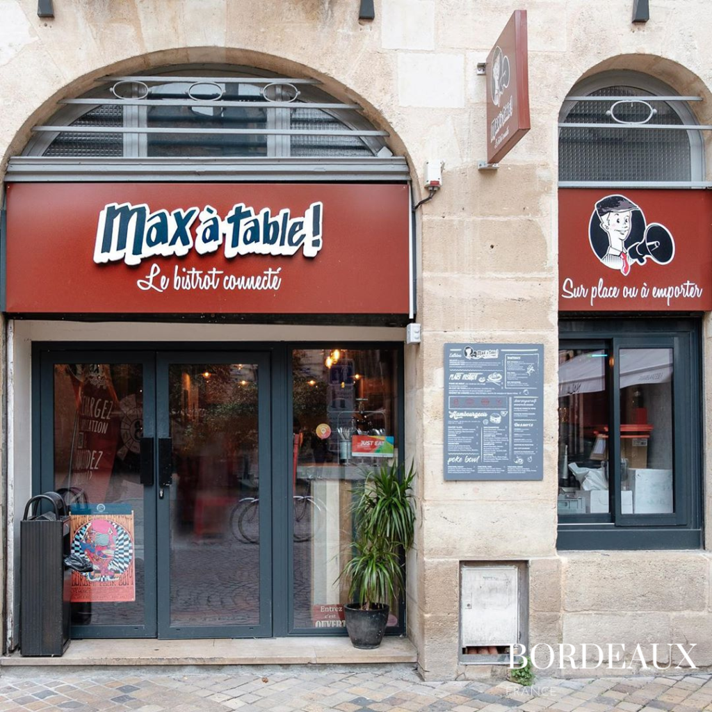 Max à table restaurant