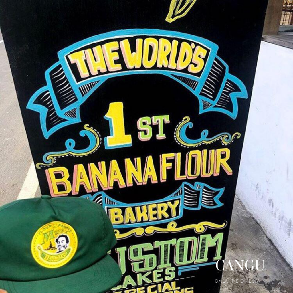 restaurant made's banana flour gluten free