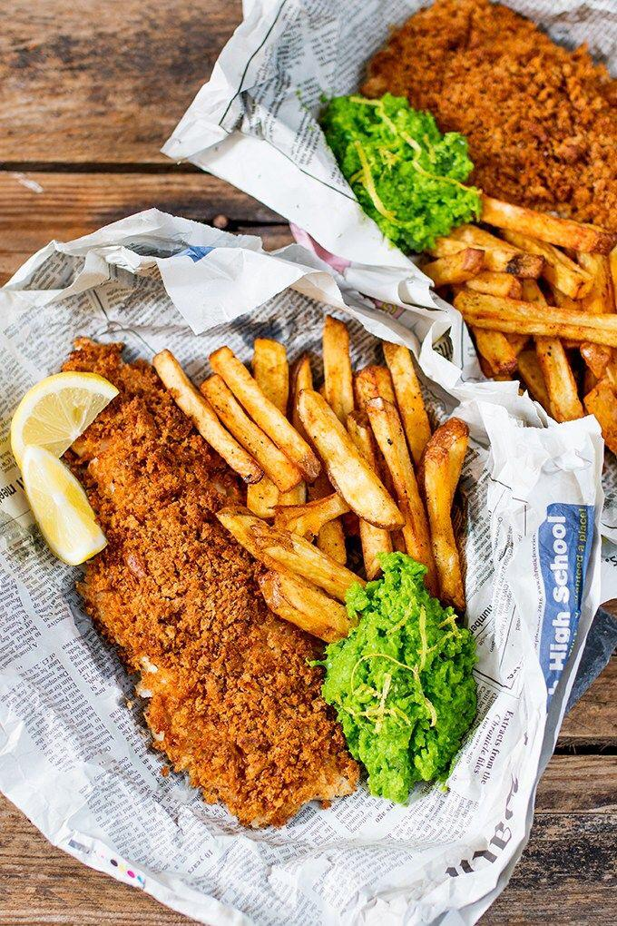 Gluten free fish & chips recipe, here it comes!