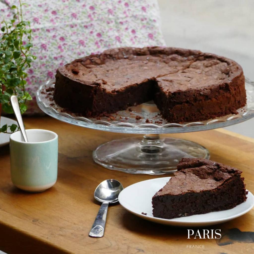gluten free chocolate cake at Onyriza