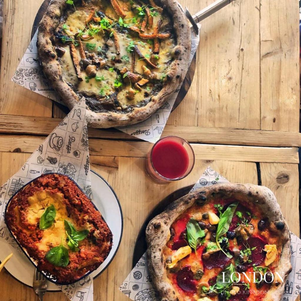 gluten free pizza in london Purezza