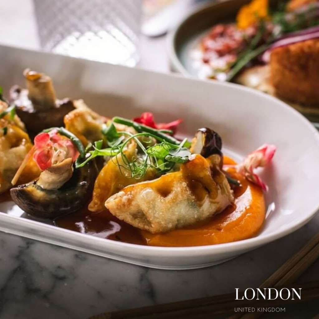 vegan and gluten free gyoza london