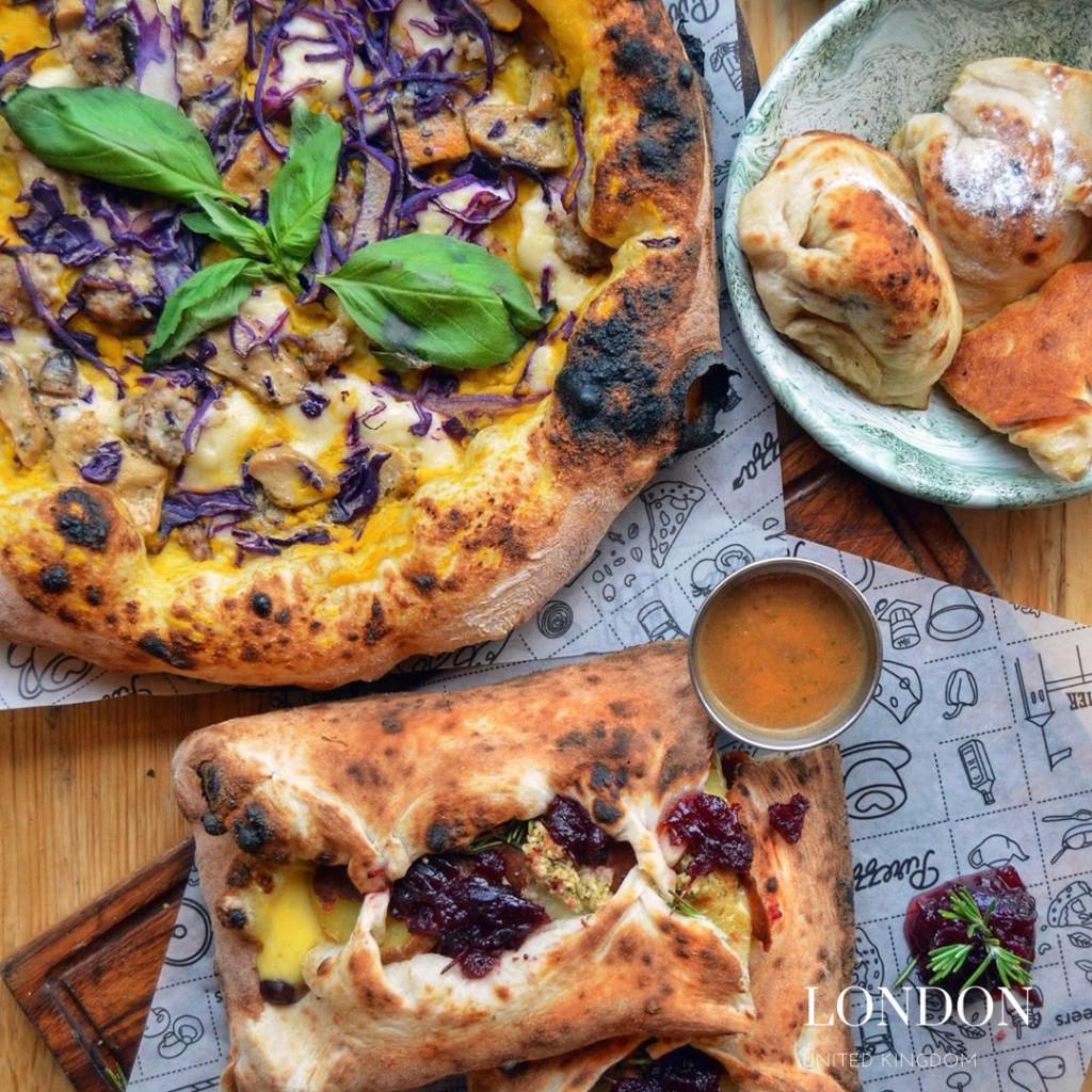 yummy gluten free pizza purezza London