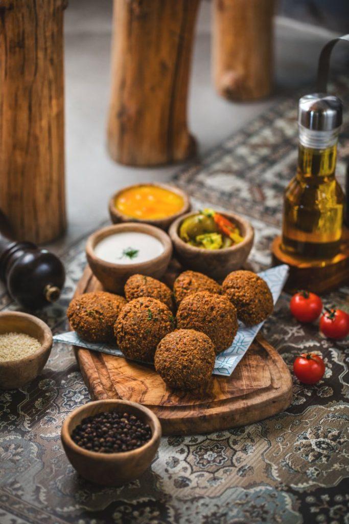 Falafels sans gluten et vegan