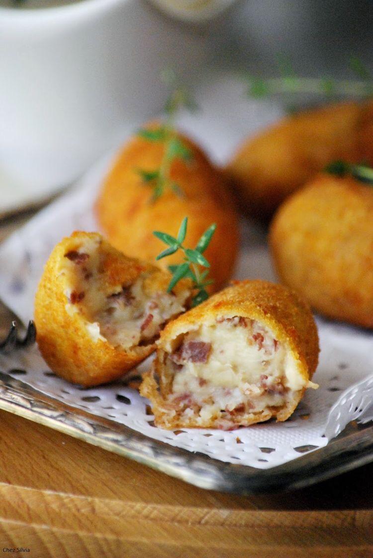 Gluten free Spanish croquettes