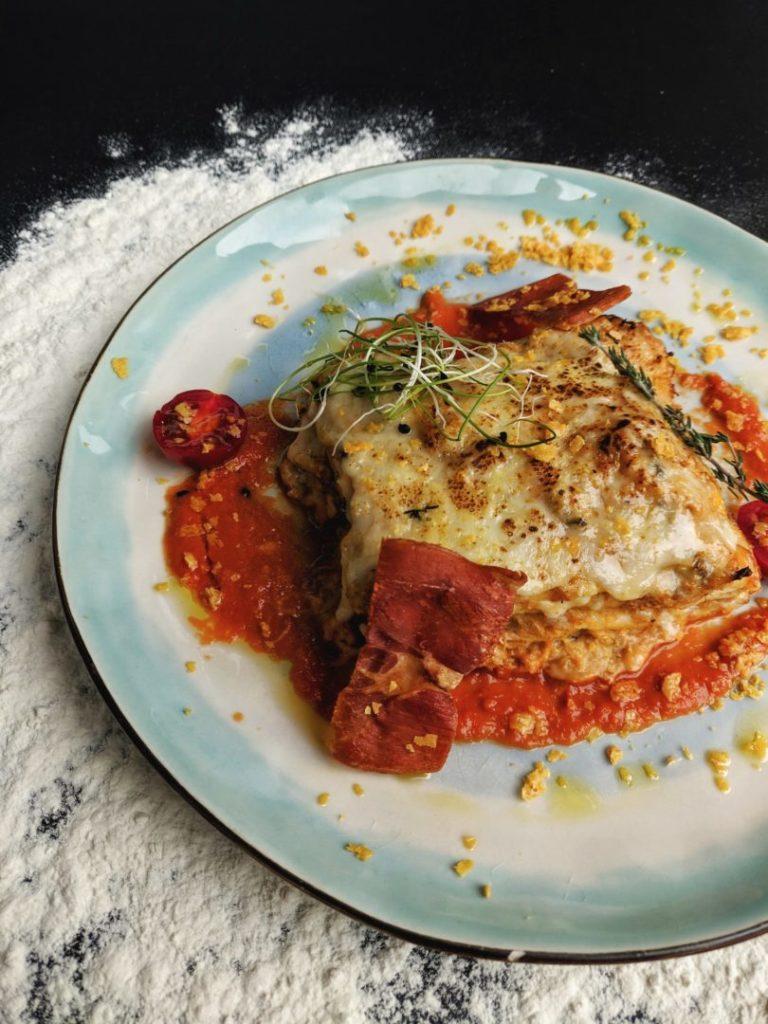 homemade gluten free lasagna