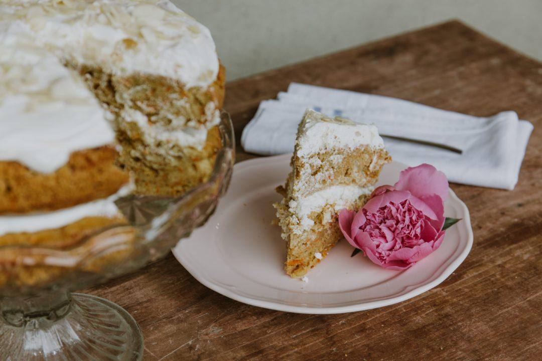 recette de carrot cake sans gluten