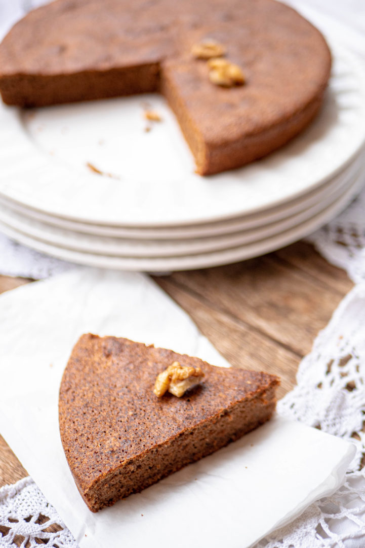 Gluten free nut cake is right here !