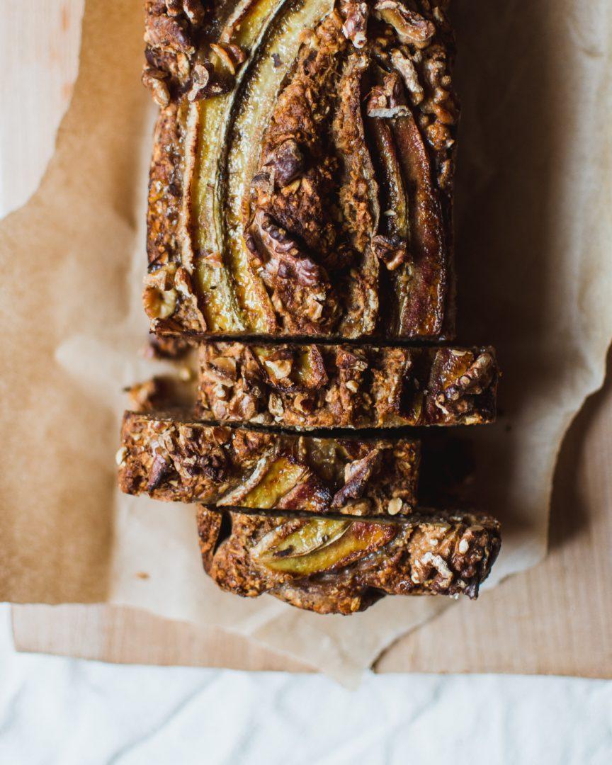 pain à la banane sans gluten
