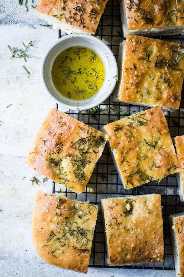 For a good gluten free focaccia, it's right here!