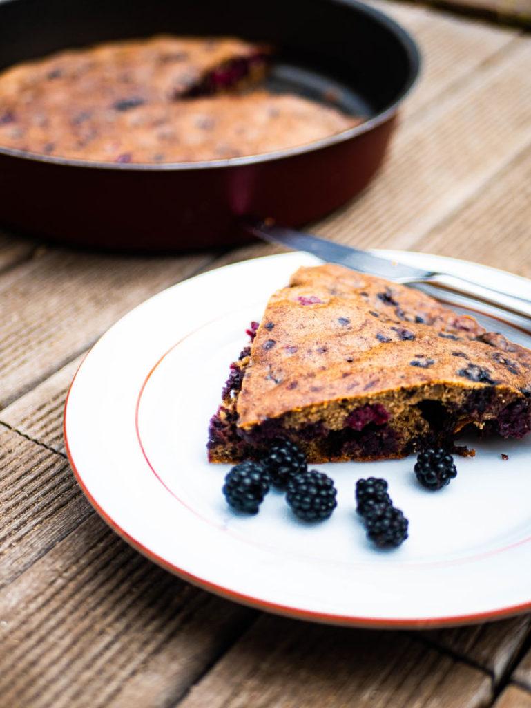 Gâteaux aux mûres sans gluten