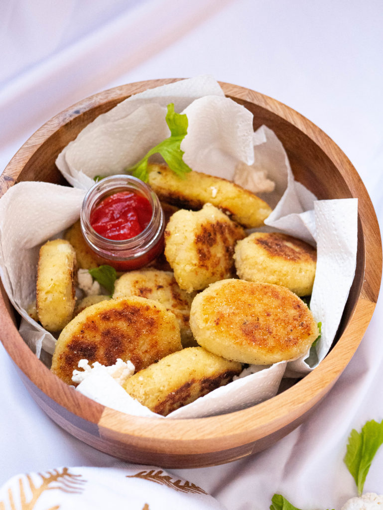 gluten free and vegetarian nuggets