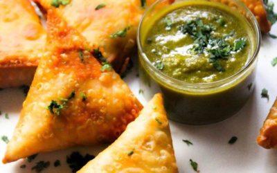 Gluten free samosa