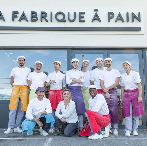 Equipe la Fabrique du pain Aix