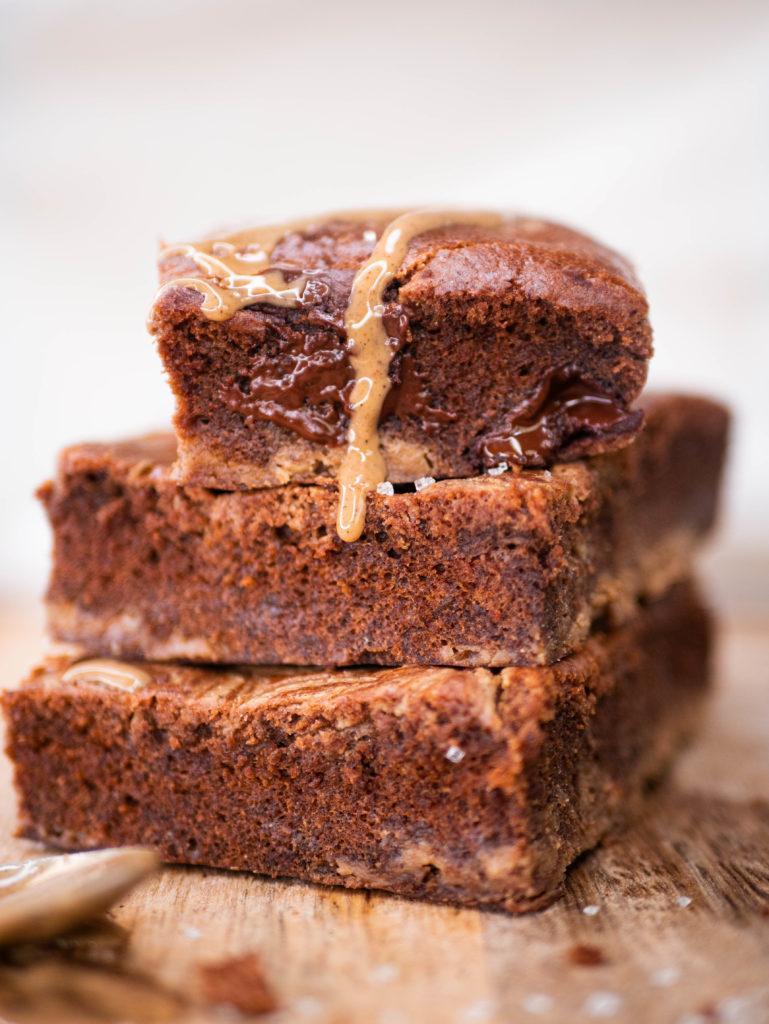 Brownie au beurre de cacahète