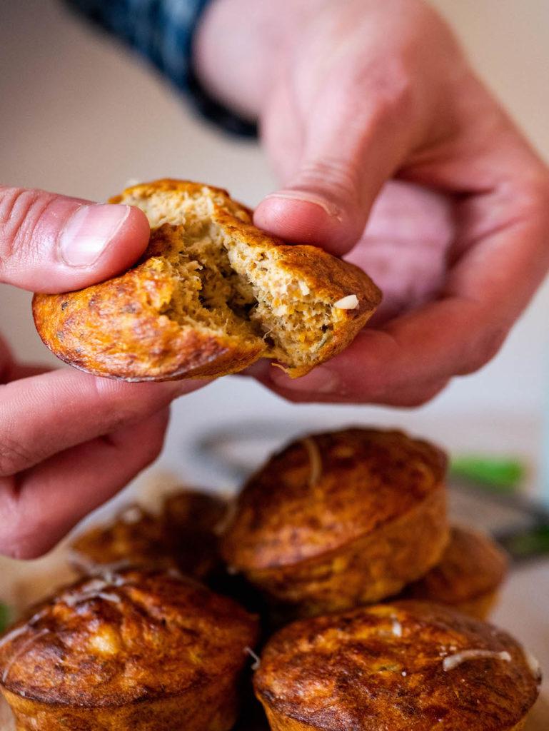 Interieur du muffin