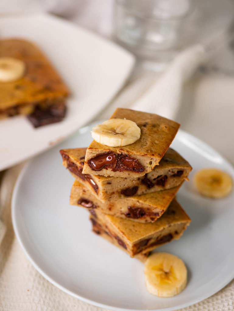 gluten-free and butter-free banana brownie