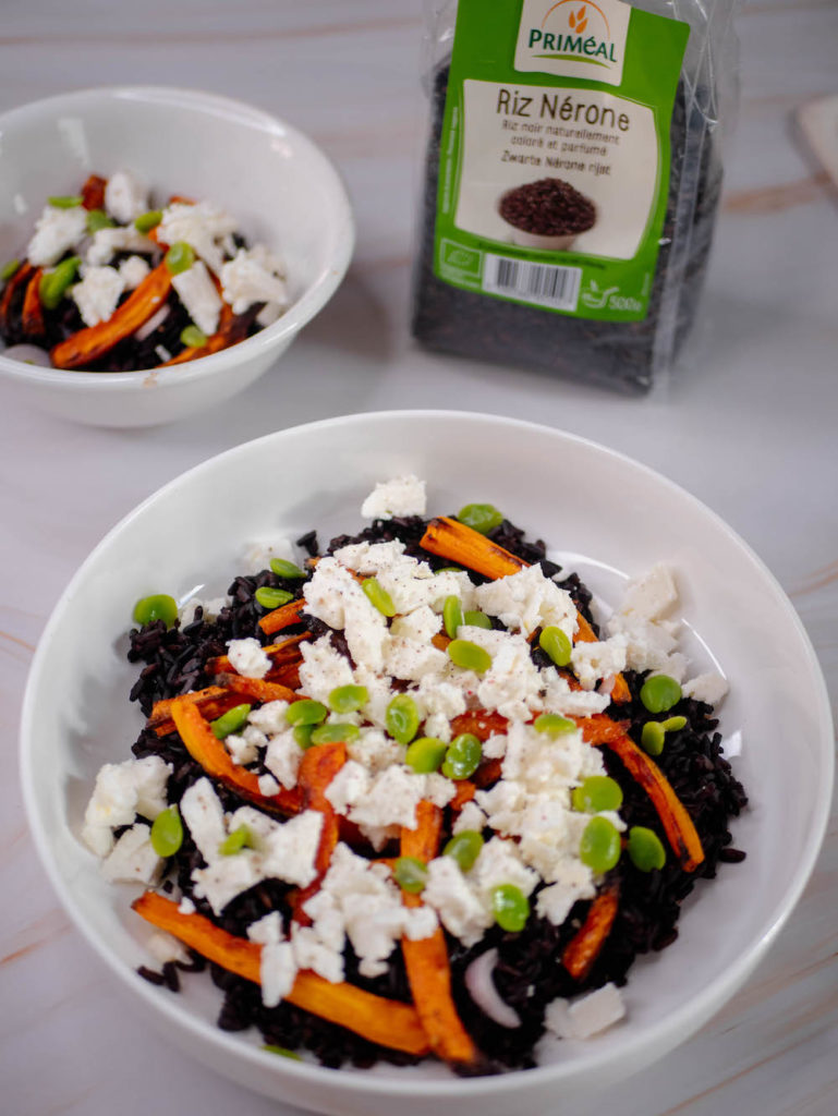 Riz noir smartfooding gluten libre
