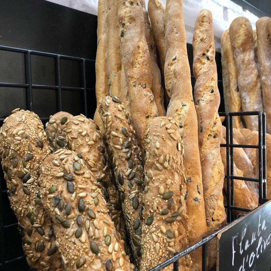 Baguettes sans gluten Barcelone